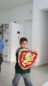הילד שלי גיבור על